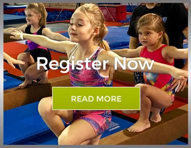 Graphic link for Registration page for Springfield Gymnastics